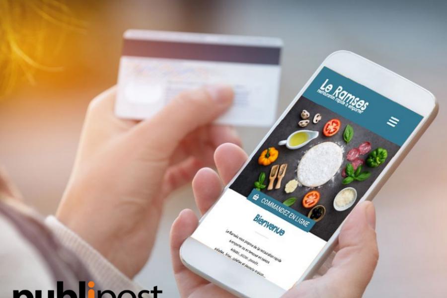 refonte-agence-publipost-site internet-restaurant-vente à emporter